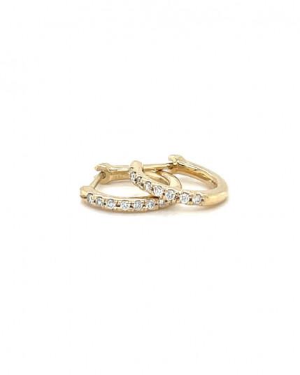 Ring mit Amethyst aus 18 Karat Gelbgold