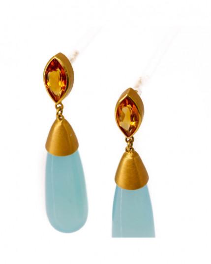Ring mit weißen und schwarzen Brillanten aus 14 Karat Weißgold