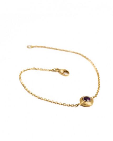 Ring mit Brillanten aus 14 Karat Weißgold