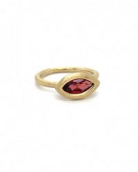 Ring mit Rosenquarz und Aquamarin aus 925 Silber
