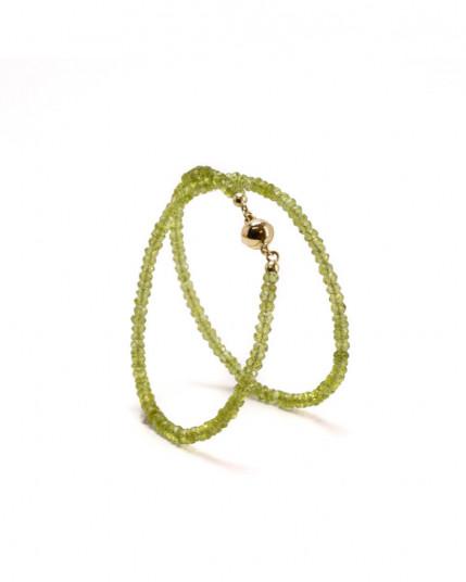 Ring mit facettiertem Topas aus 14 Karat Palladium-Weißgold